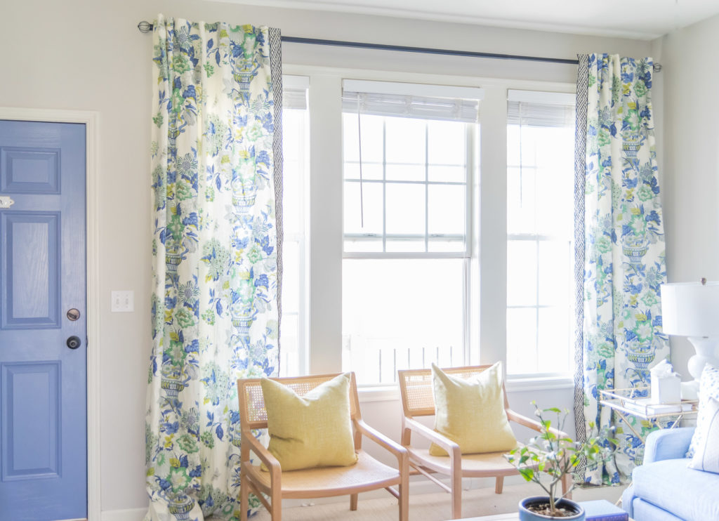 How High To Hang Curtains Collected Living Design,Over The Door Hanging Shoe Rack