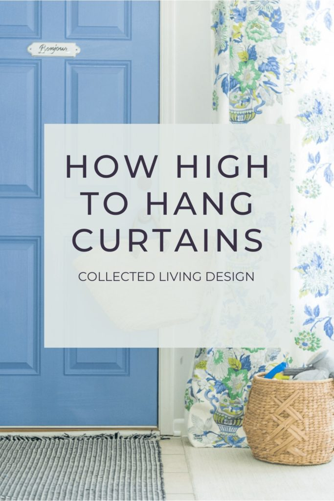 How High To Hang Curtains Collected Living Design,Color Code Personality Test Results